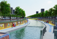 Japan company proposes turning Hanoi's polluted river into sightseeing landscape
