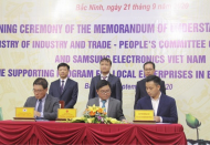 Samsung committed to supporting Vietnam enterprises joining global value chains