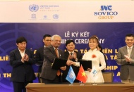 UN and SOVICO help develop Hanoi into creative city