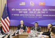 Vietnam, US hold 11th Political, Security and Defense Dialogue