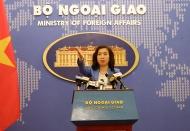 Hanoi demands China not repeat drills near Vietnam's Hoang Sa islands
