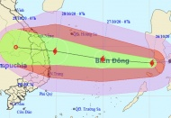 Vietnam braces for new strong storm Molave