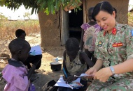 UNDP pledges to support Vietnam women in peacekeeping missions
