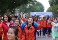 Sea Games kick-off run attracts 2,000 participants