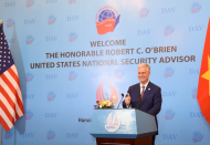 US, Vietnam share deep commitment to rules-based principles: O'Brien