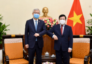Vietnam, South Korea intensify efforts for economic recovery