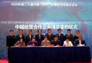 Vietnam, China firms sign contracts worth nearly $760 million at trade fair