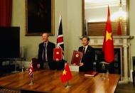 Vietnam, UK sign trade deal