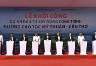 Vietnam starts construction of My Thuan – Can Tho expressway