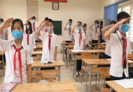 Hanoi students to return to school next Tuesday amid tight medical control
