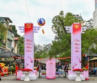 Spring Book Fair launched in downtown Hanoi to celebrate Lunar New Year