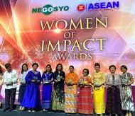 Madam Nguyen Thi Nga, Chairwoman of BRG Group honored with Woman of Impact Award
