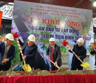 Tho Thap Temple restoration and embellishment project kicked off