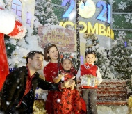 Celebrate Christmas and New Year on the