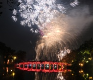Hanoi to display high altitude fireworks on New Year's Eve