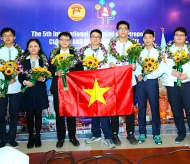 Hanoi high-school students win eight medals at Int'l Olympiad of Metropolises