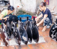 Fostering the Vietnamese traditional brand of lacquer art
