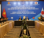 Vietnam, Japan share experiences on digital government