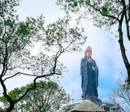 The Black Virgin Mountain - a spiritual destination for Buddhist in Spring 2021