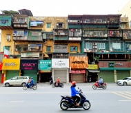 Old apartment buildings in Hanoi: a witness of history and culture