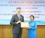 Daniel Kritenbrink awarded medal for contributions to Vietnam-US relations