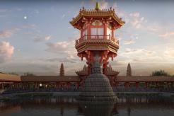 Visitors can visit One Pillar Pagoda in Hanoi via virtual reality technology
