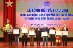 Literary and Artistic Creation Awards celebrates 1,010th year of Thang Long–Hanoi