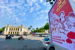 Hanoi people put high expectations on the 13th National Party Congress