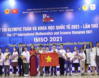Hanoi student bags gold medal at Int'l Math-Science Olympiad