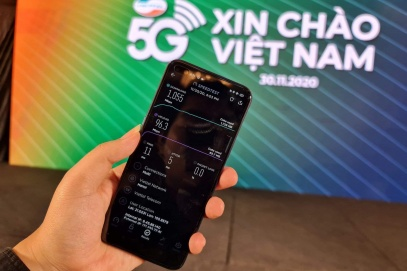 Vietnam's telecom giants start commercial testing of 5G technology