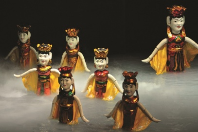 Local artisans preserve and promote Dao Thuc water puppetry
