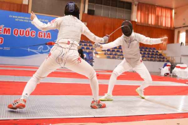 Hanoi team wins 2020 National Fencing Championship