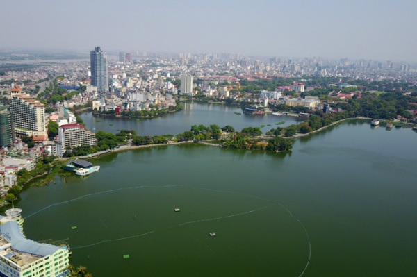 Hanoi lakes - green for a better life