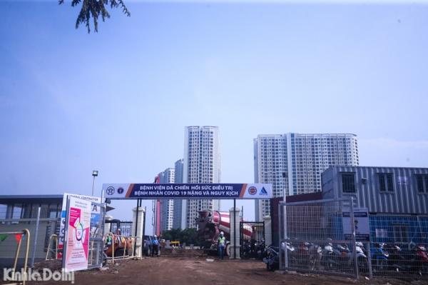 Hanoi sets up makeshift hospital as local coronavirus infections surge