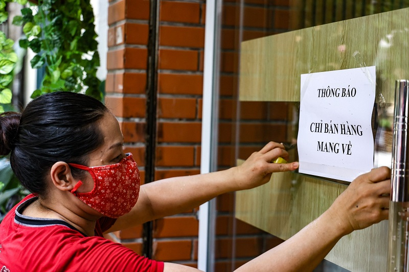 Hanoi's authorities ease Covid-19 restrictions from September 16