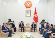 Vietnam determined for successful implementation of EVFTA, EVIPA: PM