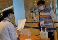 All travelers entering Vietnam must declare health conditions