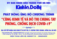 Kinh te & Do thi newspaper calls for support for health workers in Covid-19 fight