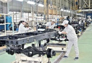 Hanoi industrial production expands for third month running