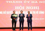 Minister of Science and Technology named Deputy Party Chief of Hanoi