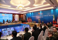 ASEAN commits to further military cooperation amid security uncertainties