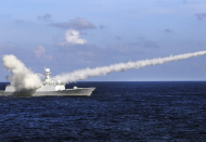 China again holds military drills in East Sea