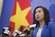 Vietnam welcomes countries' South China Sea stance observing int'l law: Spox