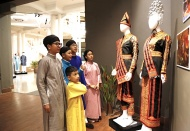 ASEAN traditional costumes displayed at exhibition in Hanoi