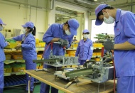 Hanoi industrial production continues growing trend in October