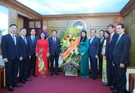 Hanoi Party chief expects greater support from Vietnam Fatherland Front