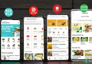 Pandemic pushes up food-delivery apps' business