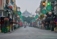 A peaceful Hanoi on the first day of Tet Holiday