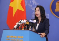 Foreign ministry spokesperson opposes China's intrusion of Vietnam's waters