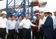 PM eyes Cai Mep International Terminal to compete with Singapore